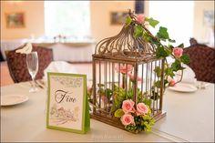 Spring Summer Green Pink Centerpiece Centerpieces Wedding Reception Photos & Pictures - WeddingWire.com