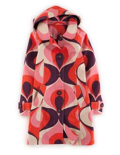 2014. Rainy Day Mac / Pink Retro Print from Boden.