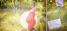 use props and sunlight to silhouette the belly