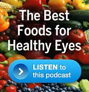 Please click here for a podcast on nutrition for good eye health. From the Healthy Vision with Dr. Val Jones podcast series.