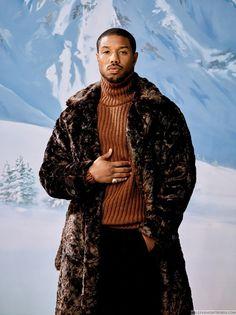 "richniggahoseok: ""richniggahoseok: ""Michael B. Jordan is officially GQ Magazine's Man of the Year! Michael B Jordan, Gorgeous Black Men, Beautiful Men, Beautiful People, Pretty People, Arte Cyberpunk, Gq Magazine, Magazine Covers, Black Panther"