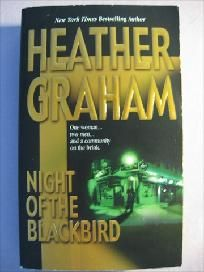 Night Of The Blackbird By Heather Graham Paperback Book (SM747)