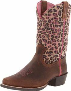 Ariat Legend Western Boot (Toddler/Little Kid/Big Kid),Brown Oiled Rowdy,6 M US Toddler Ariat. $94.95