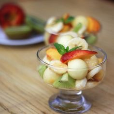 Get It Cooked: Fruit salad with melon and honey - Yeah! We are cooking :) #getitcooked via +Get It Cooked