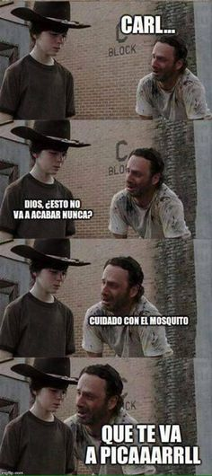 The Walking Dead meme