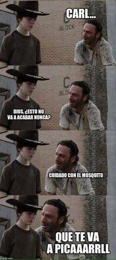 The Walking Dead meme