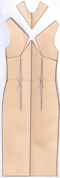 Tutorial Use Darts to Create Sheath Dress | Dart manipulation tips | Patternmaking for Fashion Design | How to Draft Sewing Patterns | Pattern Fitting | How to Design Sewing Patterns