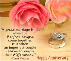 Happy Marriage Anniversary Quotes, Wishes & Messages Wedding Anniversary Quotes For Couple, Happy Marriage Anniversary Quotes, Anniversary Wishes Message, Happy Wedding Anniversary Wishes, Wedding Aniversary, Romantic Anniversary, Anniversary Cards, Wedding Happy, Wedding Quotes