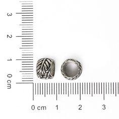 Nicebeads 10 pcs Spacer perles argent plaqué aplati coeur grand trou Spacer perles Charm Fit européenne Bracelet bricolage bijoux artisanat dans Perles de Bijoux et Accessoires sur AliExpress.com | Alibaba Group