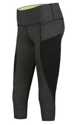 ATHLETE Women's 3/4 Tights Capri (Light Gray) | CoovySports.com US & Canada
