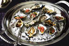 Oyster platter - Christmas party inspiration http://www.taste.com.au/recipes/23914/oyster+platter