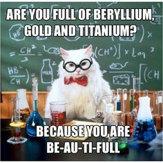 as much as I hated chemistry and the periodic table..this is cute.
