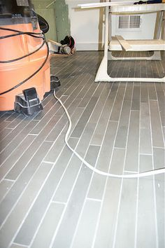 ann sacks luxor gray floor tile