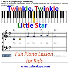 Free Piano Lessons - #7. Learn How to Play London Bridge Is ...