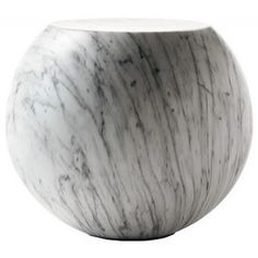 Bong Coffee Table in Faux Carrara Marble - modern - coffee tables - - by AllModern