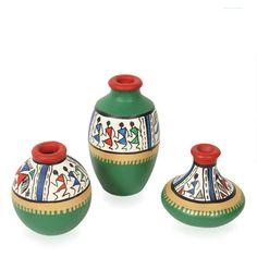 decorative paint pots design - Buscar con Google