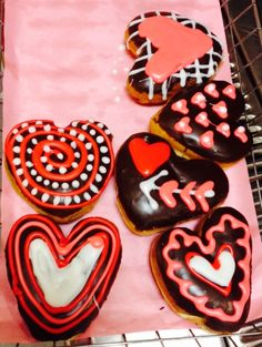 valentines day donuts!