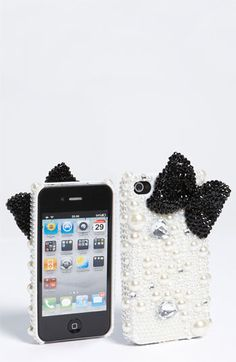 Bow and Bling bling IPhone Case...