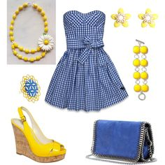 Summertime..., created by rkimball on Polyvore