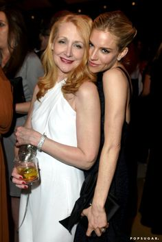 Pin for Later: The 20 Most Fun-Filled Photos From Vanity Fair's Oscars Afterparty Patricia Clarkson and Sienna Miller