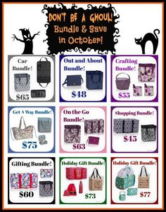 Make a set and save only in October!  Use the Thirty One October Special.