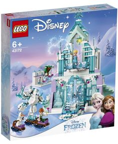 Help your young Disney Frozen fan replay scenes from Disney's Frozen and Frozen Fever with a grand Ice Palace. This cool toy LEGO® l Disney playset for kids features a palace with special sliding bridge, revolving staircase and kitchen with table Lego Disney Princess, Lego Princesse Disney, Heros Disney, Disney Play, Disney S, Frozen Disney, Film Disney, Frozen Elsa And Anna, Elsa Frozen