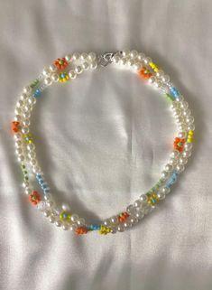 Trendy Jewelry, Cute Jewelry, Fashion Jewelry, Bracelet Designs, Necklace Designs, Beaded Jewelry Designs, Bracelet Patterns, Homemade Necklaces, Handmade Wire Jewelry