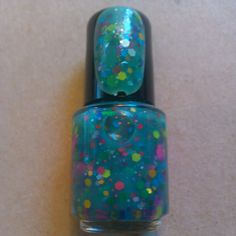Green Goblin Indie Made Jelly Franken Nail Polish by SickLacquers, $4.00