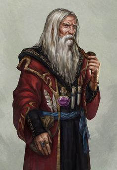 Friar of Iron Star, Friar's Gate.  Merlin the court wizard by Lucy-Lisett