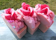 Once Upon A Rose Goat Milk Soap by alifedeliberate on Etsy, $6.00