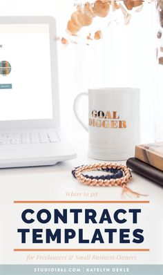 STUDIO 1862 Where to get Contract Templates for Freelancers & Small Business Owners Business Goals, Business Advice, Business Management, Business Entrepreneur, Business Design, Business Marketing, Online Business, Busy At Work, Apps