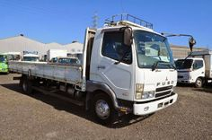 Japanese vehicles to the world: 2002 Mitsubishi Fuso Fighter 4.15ton to Zambia - D...