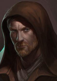 ArtStation - Obi-Wan Kenobi, Ekaterina Chernikova