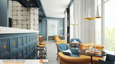 The restaurant in Gurzuf . Design by Vitta-group.Crimea