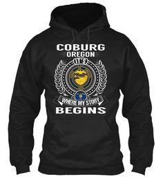 Coburg, Oregon - My Story Begins