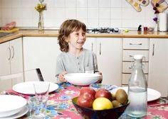 Cuanto más se coma en casa y en familia, mejor será el estado nutricional de los niños