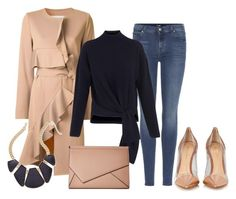 """155"" by vicinogiovanna ❤ liked on Polyvore featuring 7 For All Mankind, Goen.J, Whistles, Gianvito Rossi, Kendall + Kylie, Thalia Sodi, outfits, winterfashion, winterstyle and winteressentials"