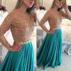 long prom dress, sexy prom dress, prom dress with long sleeve, unique prom dress, gorgeous prom dress, elegant prom dress, evening dress, PD18016
