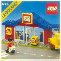 LEGO 6362-1: Post Office | Brickset: LEGO set guide and database