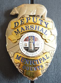 Deputy Marshal, Municipal Court, County of Los Angels, California
