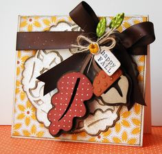 Happy Fall by chelemom - Cards and Paper Crafts at Splitcoaststampers