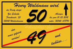 Einladung Zum 50. Geburtstag Vorlagen Download