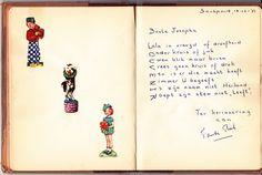 Mijn oudtante Juderika (Riek) van den Berg-de Jong in het album van mijn moeder Josepha Johanna Wesseldijk. Album, Cover, Books, Libros, Book, Book Illustrations, Card Book, Libri