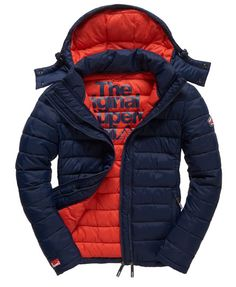 Discover our range of Superdry Winter Jackets & Coats. Superdry Jacket Men, Hoodie Jacket, Captain America Leather Jacket, Mens Winter Coat, Inspiration Mode, Mens Sweatshirts, Jackets For Women, Menswear, Costume