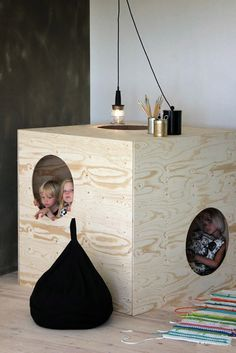 Luona In - collection of child's stylish eco-furniture from Finland. #design #eco #furniture #children #wood
