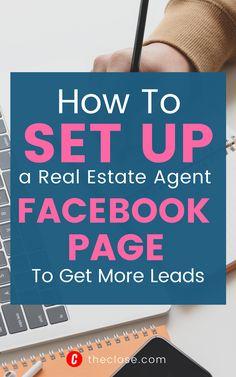 Social Media Marketing Business, Facebook Marketing, Real Estate Business, Real Estate Tips, Career Change, Led, Tools, Money, Recipe