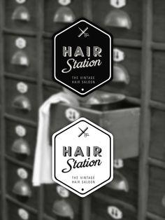 Hair Station - Vintage Barber by Selman HOŞGÖR, via Behance