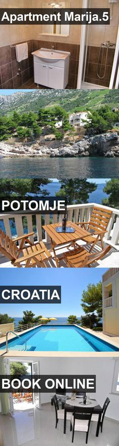 Apartment Marija.5 in Potomje, Croatia. For more information, photos, reviews and best prices please follow the link. #Croatia #Potomje #travel #vacation #apartment