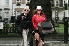 Joanna Lumley and Jennifer Saunders of Absolutely Fabulous