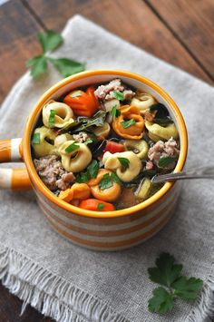 This Italian Sausage and Tortellini Soup recipe has spread like wildfire throughout my family. It's so flavorful and hearty, everyone always raves about it whenever it's made. I just made this yesterday when my aunt and cousin were in town for a visit and it came out better than I've ever had it. So figured it […]